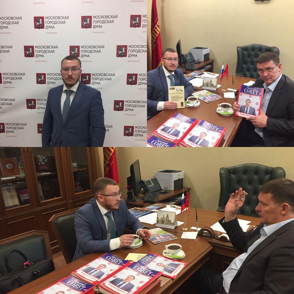 Встреча с депутатом Шибаевым Андреем