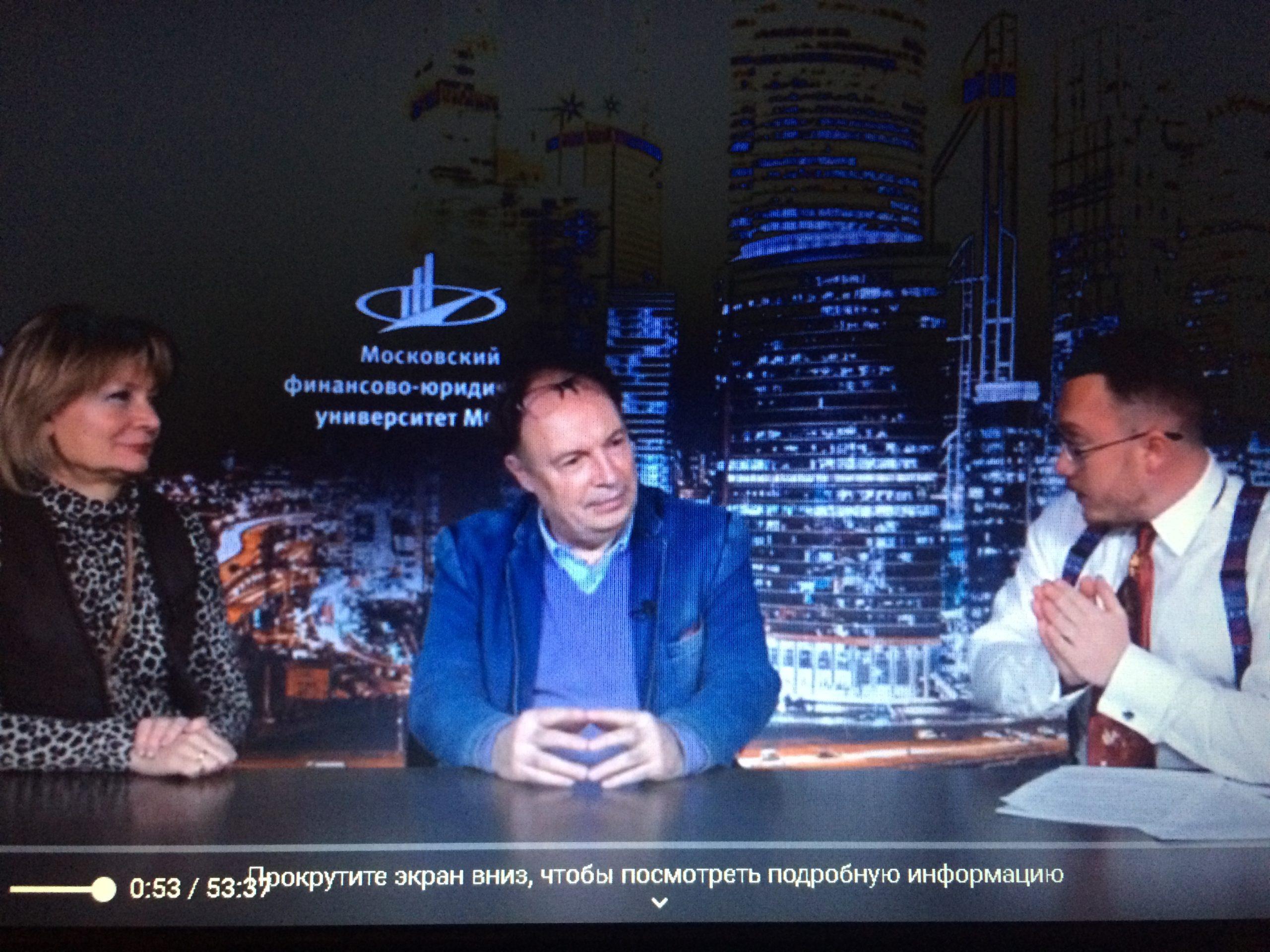 руководители Детского музыкального театра «Домисолька» в программе » Совет» с Андреем Алфёровым. Университет МФЮА